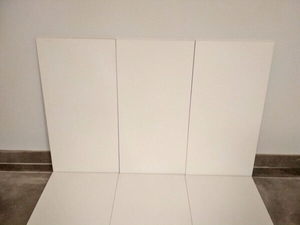BLANCO MATE RECTIFICADO 30x60